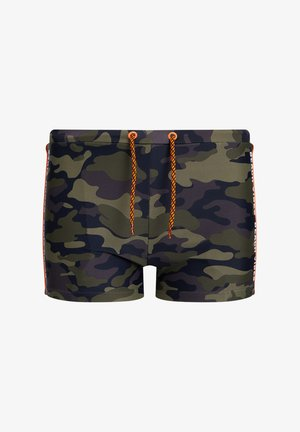 Swimming briefs - army green