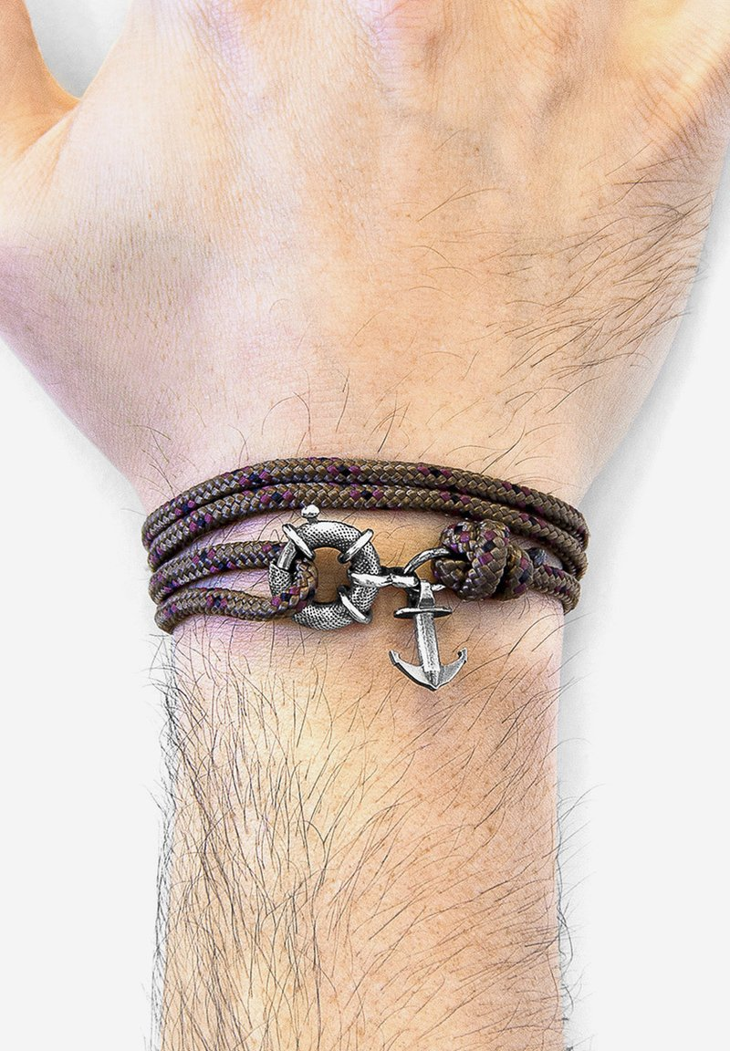 Anchor & Crew - CLYDE ANCHOR  - Bracelet - brown