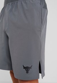 Under Armour - PROJECT TRAINING SHORT - Sports shorts - pitch gray/black - 3