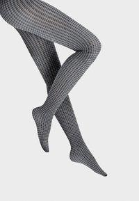 Wolford - LESLIE - Tights - black/ash - 1