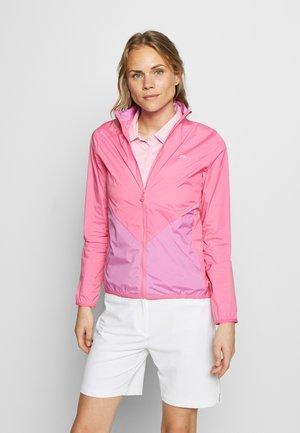 Vodotěsná bunda - pop pink