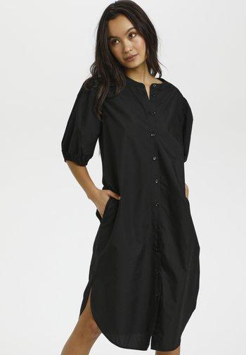 SUSANA - Shirt dress - black deep