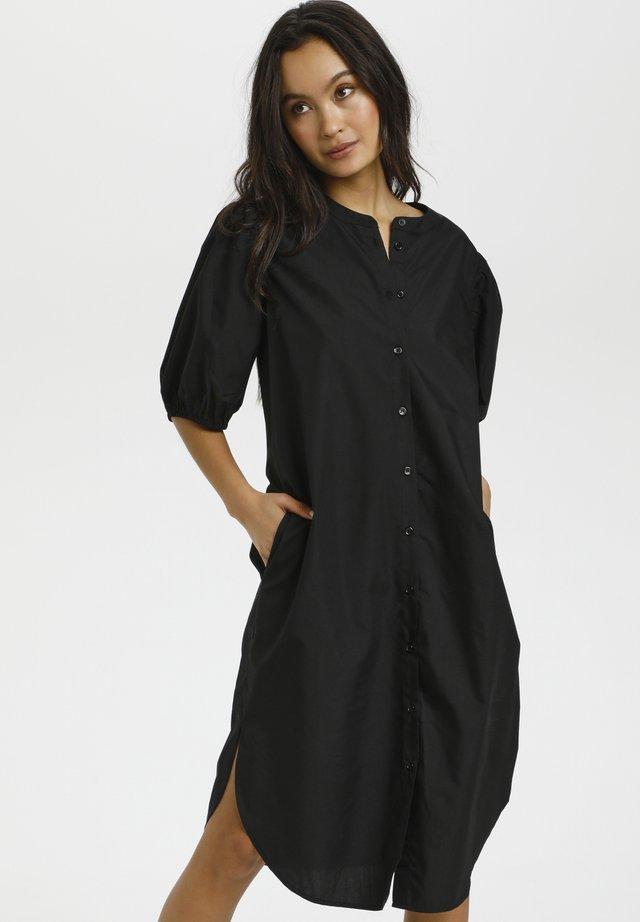 SUSANA - Skjortekjole - black deep