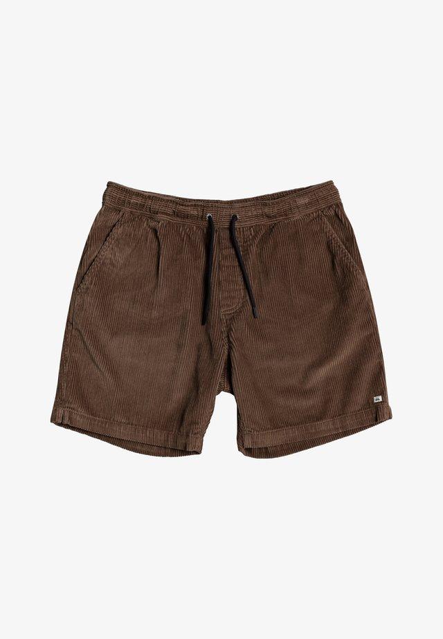 TAXER  - Shorts - walnut