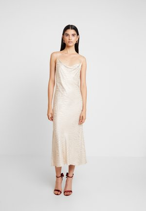 THE KAT COWL MIDI DRESS - Maxi dress - sand
