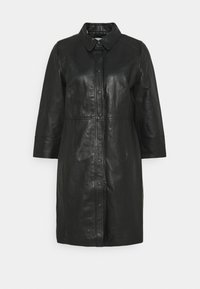 Kaffe - KAJANELLE DRESS - Shirt dress - black deep - 0