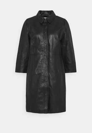 KAJANELLE DRESS - Shirt dress - black deep