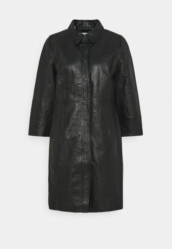 KAJANELLE DRESS - Shirt dress - black deep