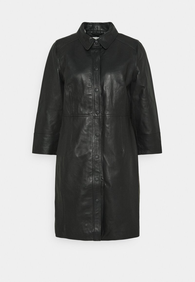 Kaffe - KAJANELLE DRESS - Shirt dress - black deep