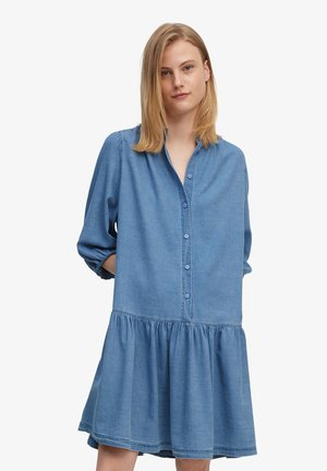 Denim dress - multi/mid blue salt 'n pepper