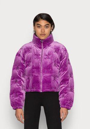 MADELINE MONO JACKET - Zimní bunda - sparkling grape