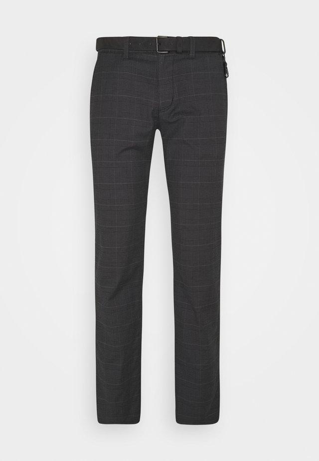STRUCTURED  - Chino - grey/brown