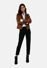 Oakwood - MANGA - Leather jacket - brown - 1