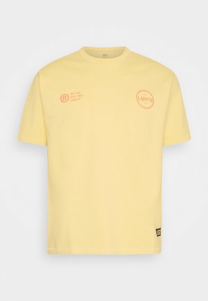 VINTAGE FIT GRAPHIC TEE - T-shirt print - yellows/oranges