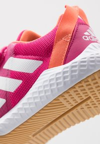 adidas Performance - FORTAGYM RUNNING SHOES - Neutral running shoes - real magenta/footwear white/semi coral - 2