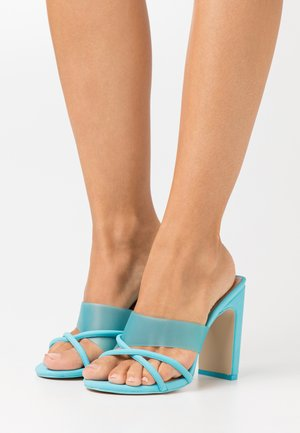 HOANA - Heeled mules - bright blue
