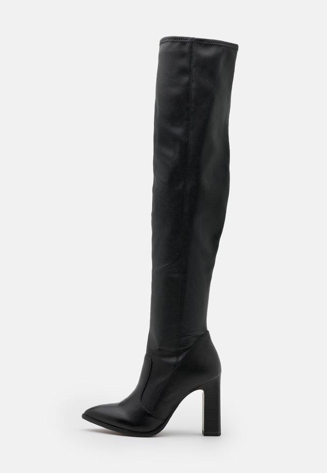 BOOTS - Laarzen met hoge hak - black