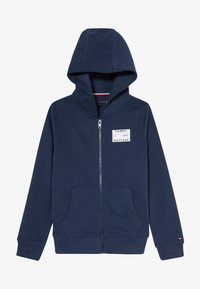 Tommy Hilfiger - REFLECTIVE GRAPHIC FULL ZIP - Hoodie met rits - blue - 3