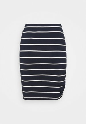 WORAZE - Pencil skirt - navy white