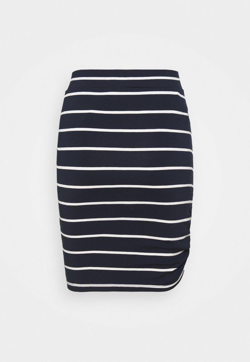LTB - WORAZE - Spódnica ołówkowa  - navy white