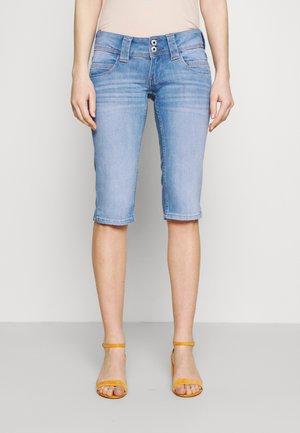 VENUS CROP - Denim shorts - denim