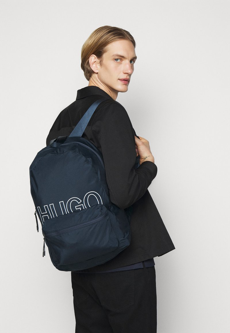 HUGO - REBORN BACKPACK UNISEX - Batoh - navy