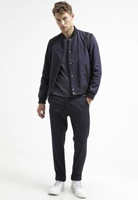 Filippa K - TERRY  - Trousers - navy - 1