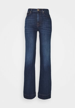 MODERN DOJO SOHO - Flared Jeans - dark blue