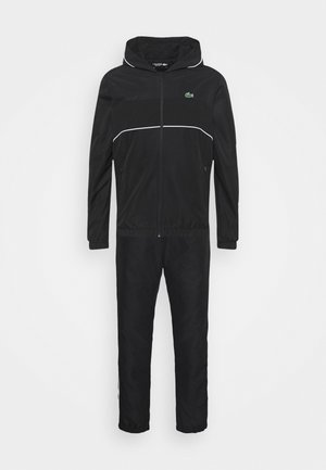 TRACK SUIT SET - Tracksuit - black/white