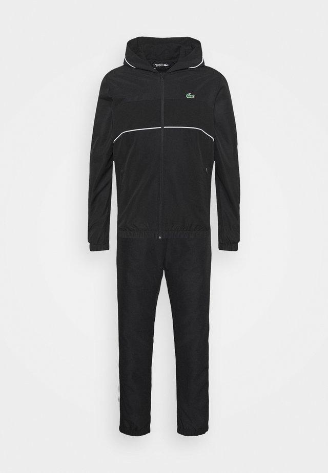 TRACK SUIT SET - Survêtement - black/white