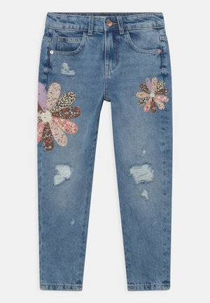 PATCHWORK  - Relaxed fit jeans - light denim