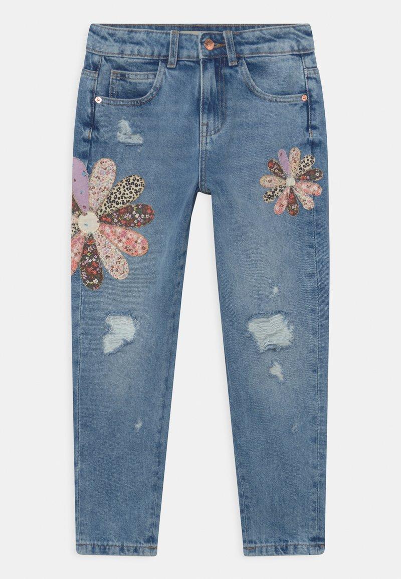 Marks & Spencer London - PATCHWORK  - Relaxed fit jeans - light denim