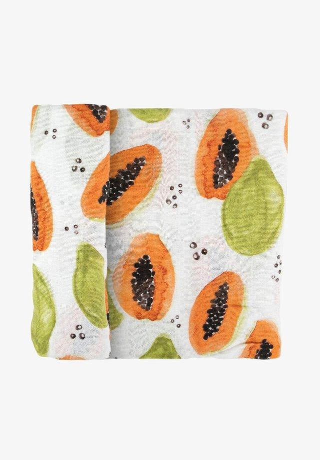 Muslinfilt - papaya