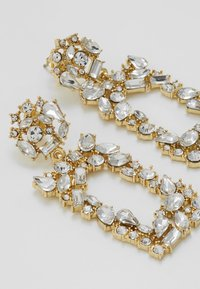 Pieces - Ohrringe - gold-coloured/clear - 4