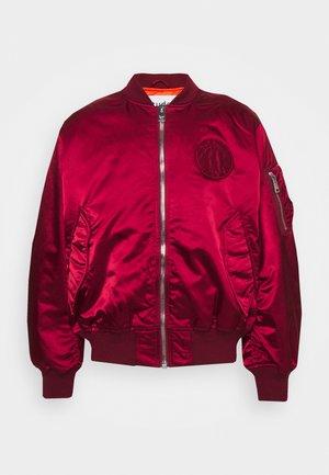 HORIZON UNISEX - Bomber Jacket - burgundy