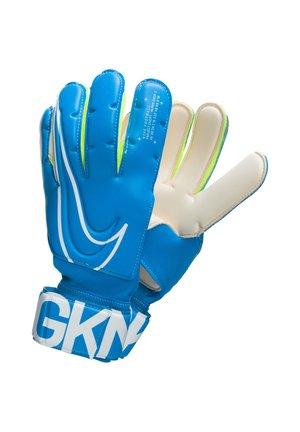 Goalkeeping gloves - blue/white