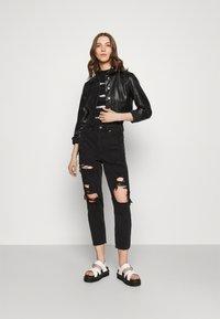 ONLY - ONLWESTA  - Faux leather jacket - black - 1