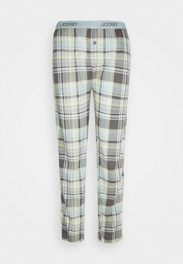 PANTS - Pantaloni del pigiama - off-white/brown