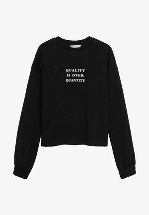 Bluza - černá