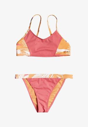 SET - Bikini - salmon buff picolo s