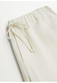 Mango - Trousers - šedobílá - 6