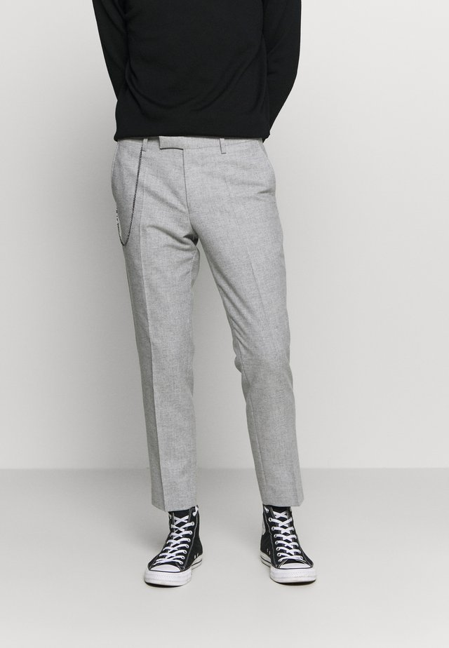 MOONLIGHT CHAIN TROUSER - Broek - light grey