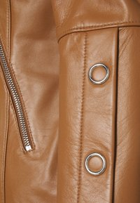 HUGO - LISAKA - Leather jacket - rust/copper - 4
