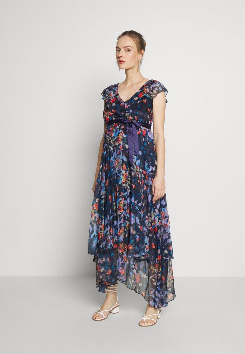 MAMALICIOUS - MLJASMINE DRESS - Denní šaty - medieval blue