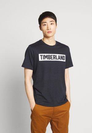 T-shirt z nadrukiem - dark sapphire
