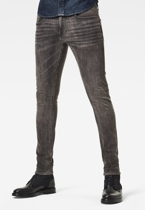 3301 SKINNY - Jeans Skinny Fit - faded black magnet