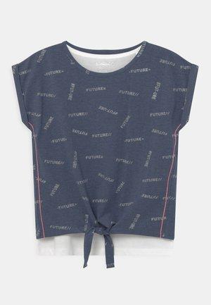 TEENAGER - Print T-shirt - night blue
