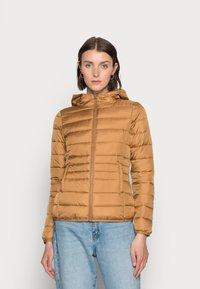 TOM TAILOR DENIM - Light jacket - soft camel - 0