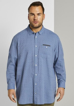 DIAMOND STRUCTURE SHIRT - Shirt - blue