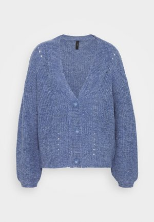 YASMIA - Strikjakke /Cardigans - electric blue
